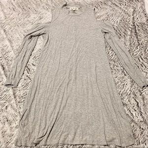 Comfy open shouldered dress
